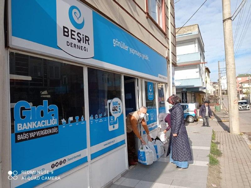 Kayseri'de Gıda Kumanyası Desteği