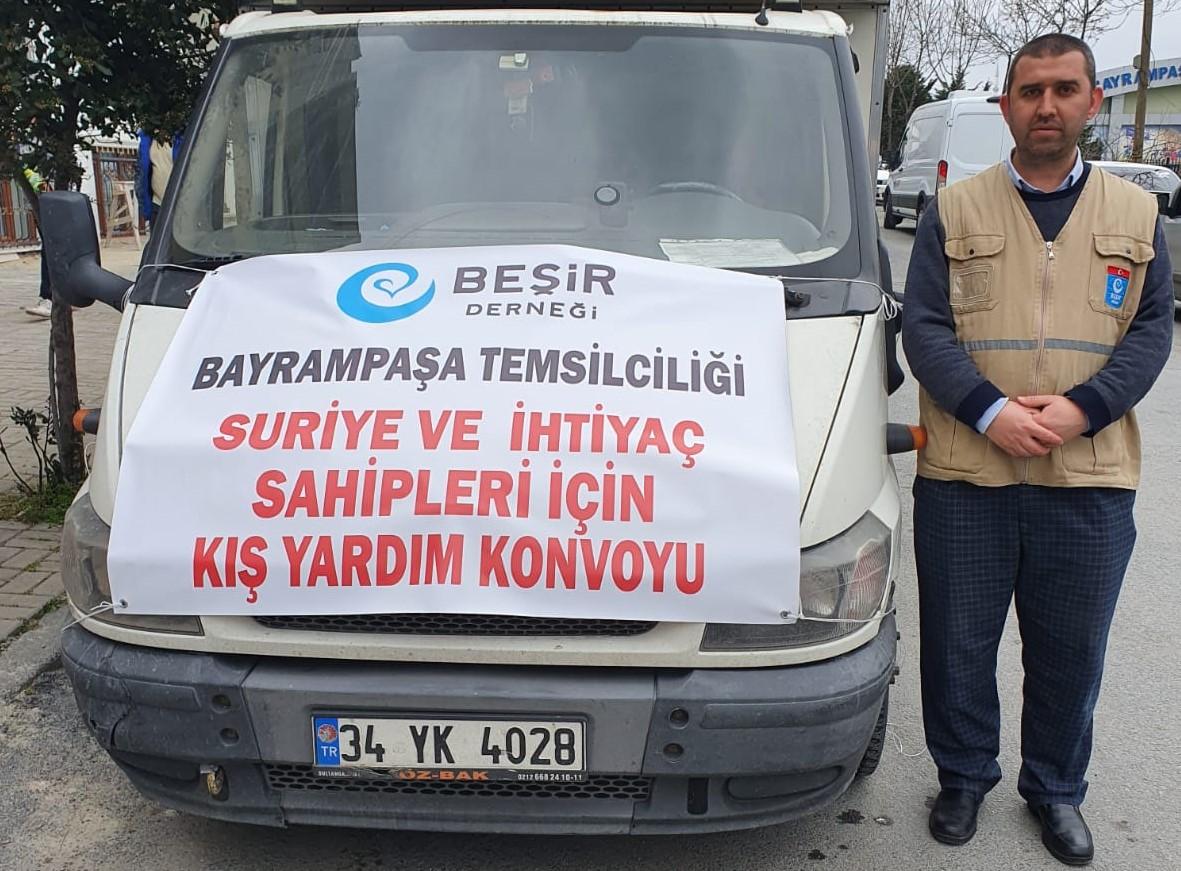 Bayrampaşa'dan Suriye'ye İnsani Yardım