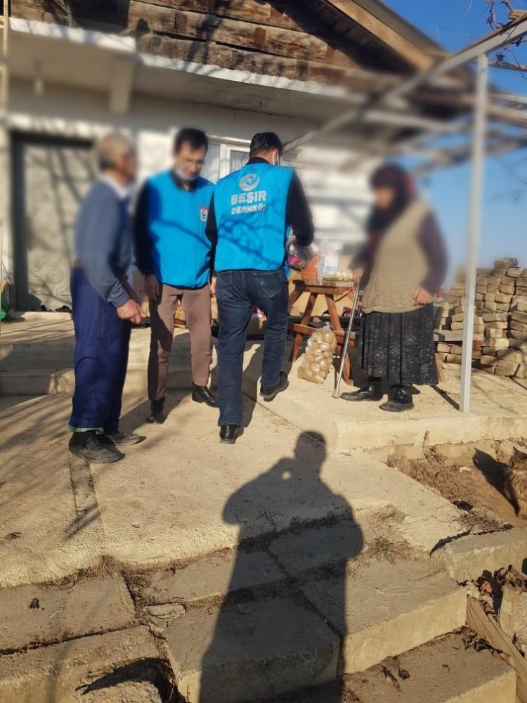 Kastamonu'da Gıda Yardımları