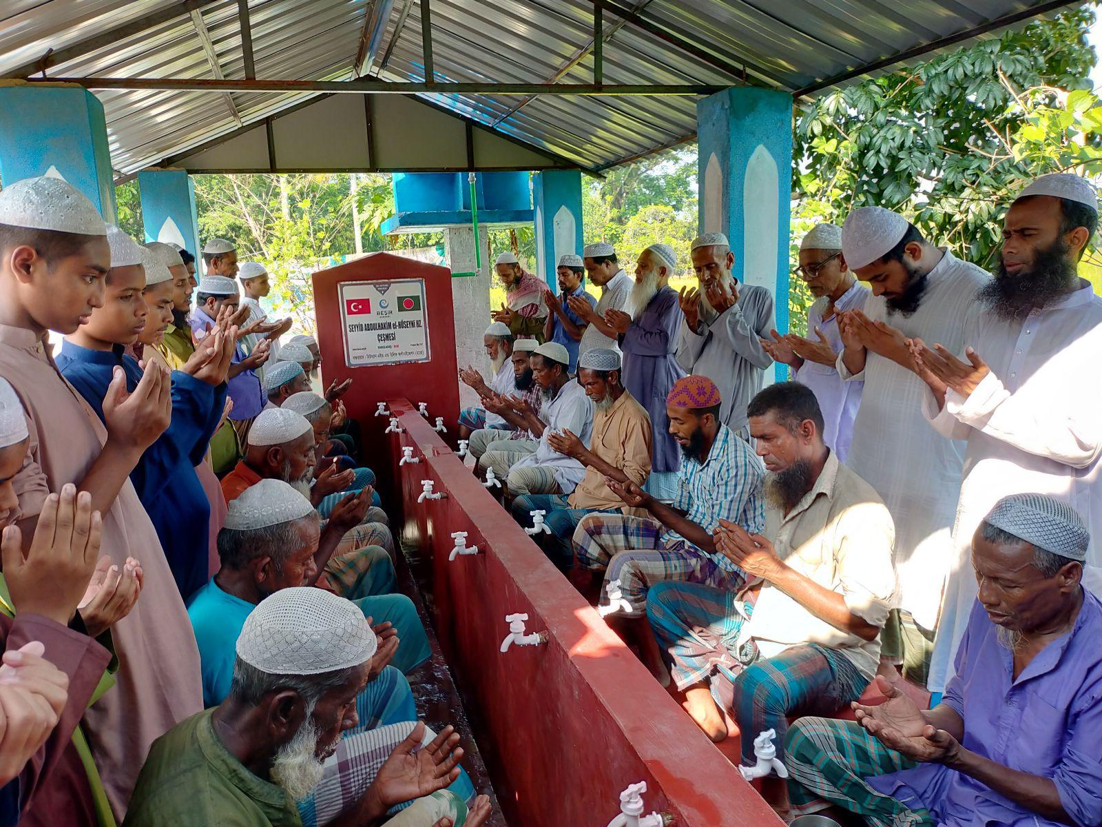 1200 Kişilik Köye Su Kuyusu ve Çeşme