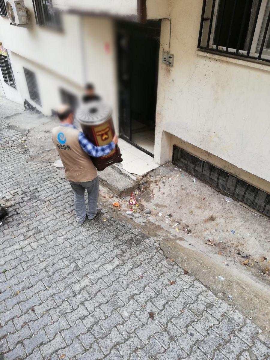 Urfa'da Kış Yardımları Devam Ediyor