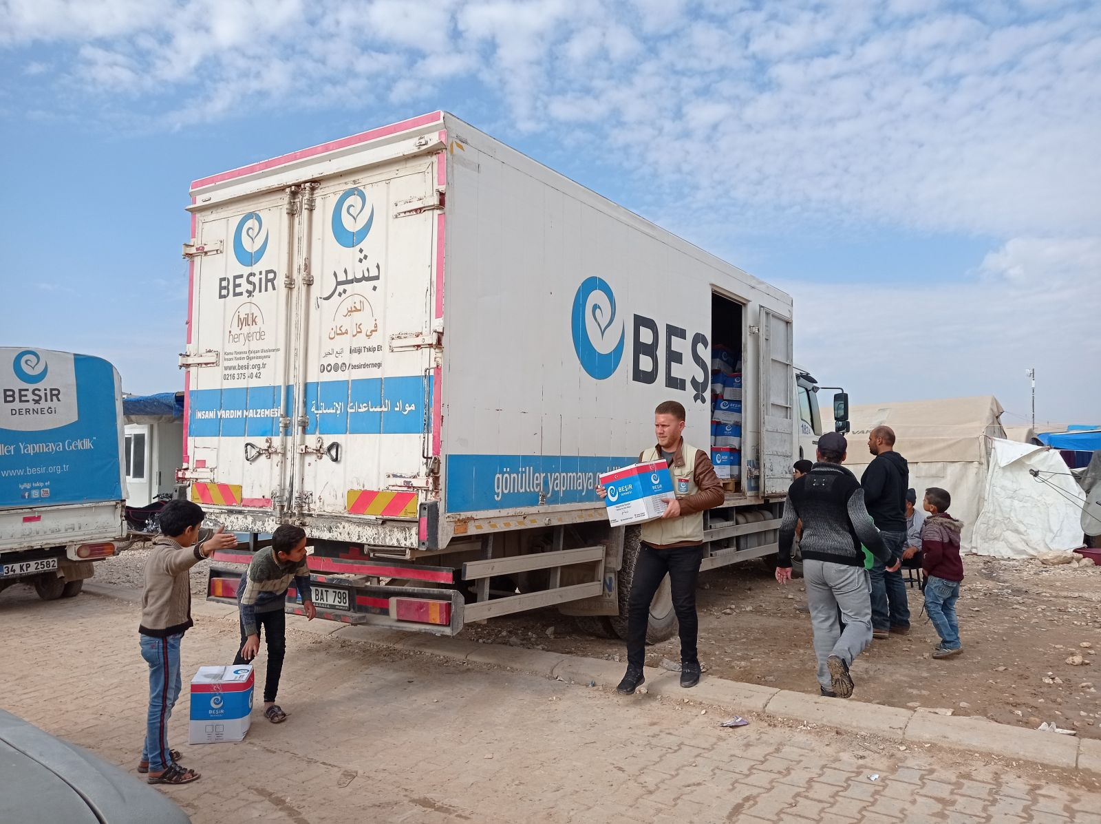 Suriye Azez Şemareh Mukaveme Kampına Yardım