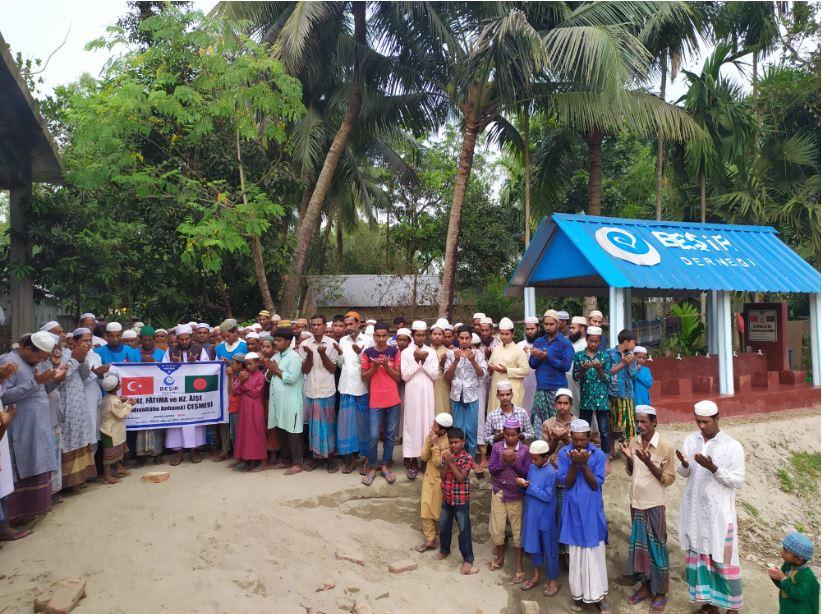 Derneğimiz 1200 Kişilik Köyü Çeşmesine Kavuşturdu