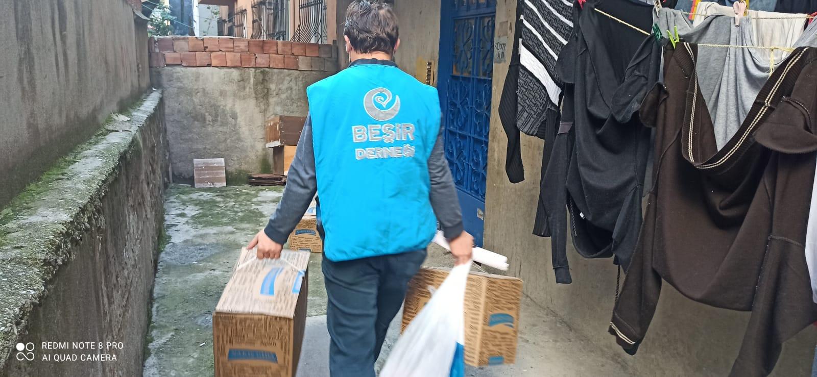 Bağcılar ve Balıkesir Temsilciliğimiz Yardımları Ulaştırdı