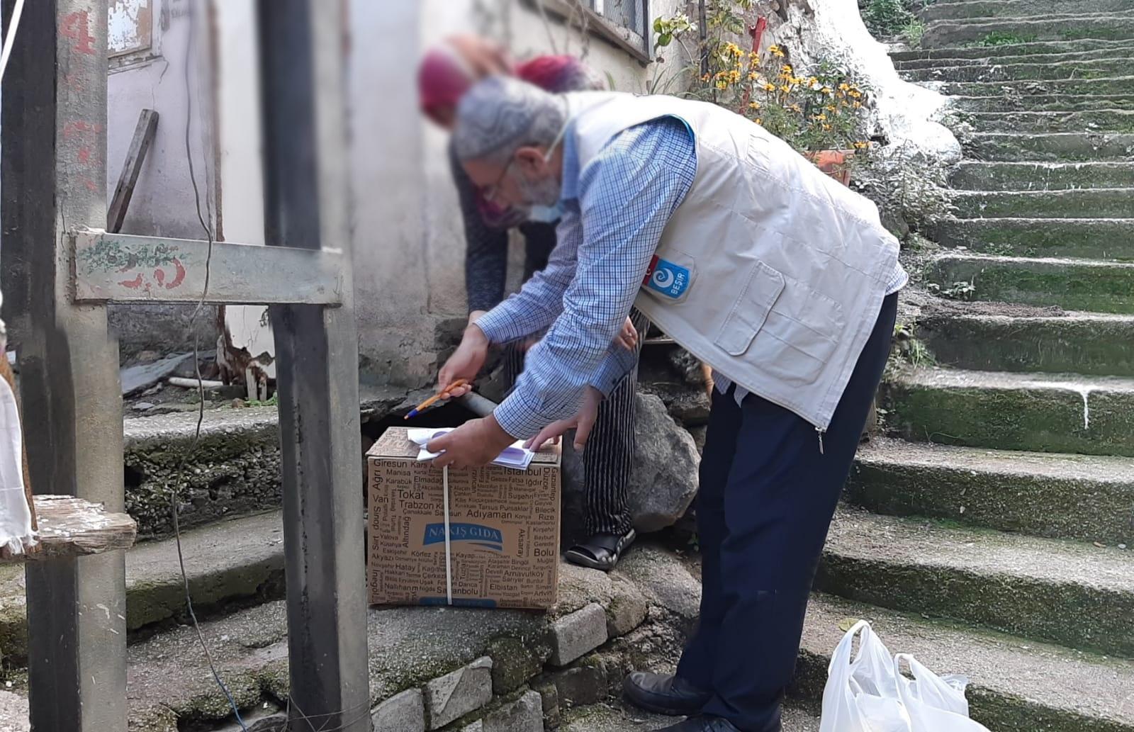 Bursa Yıldırımda Ailelerimize Gıda Dağıtımını Gönüllülerimiz ile Beraber Gerçekleştirdik