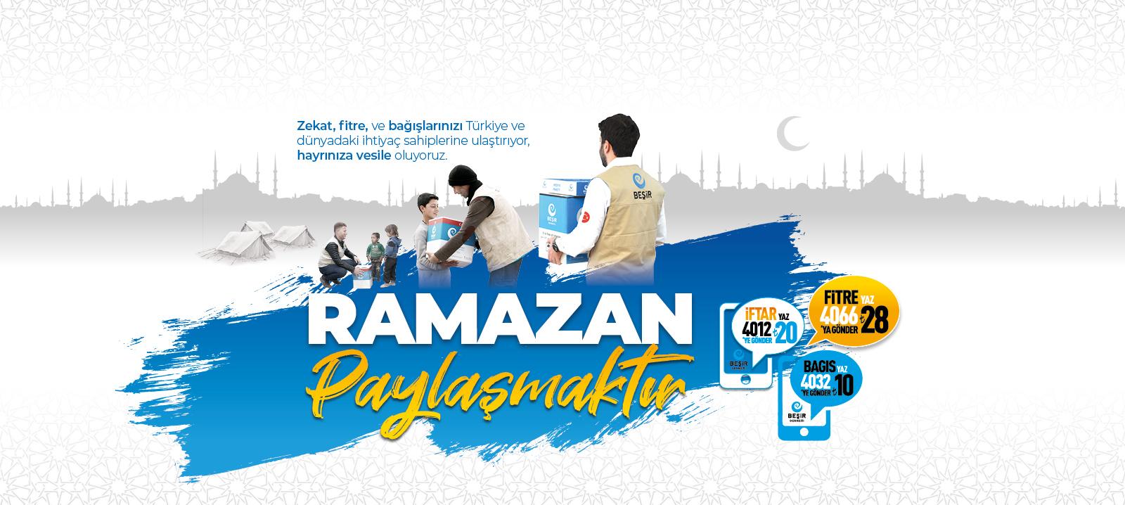 Beşir Derneği 2021 Ramazan Ayı Faaliyetleri