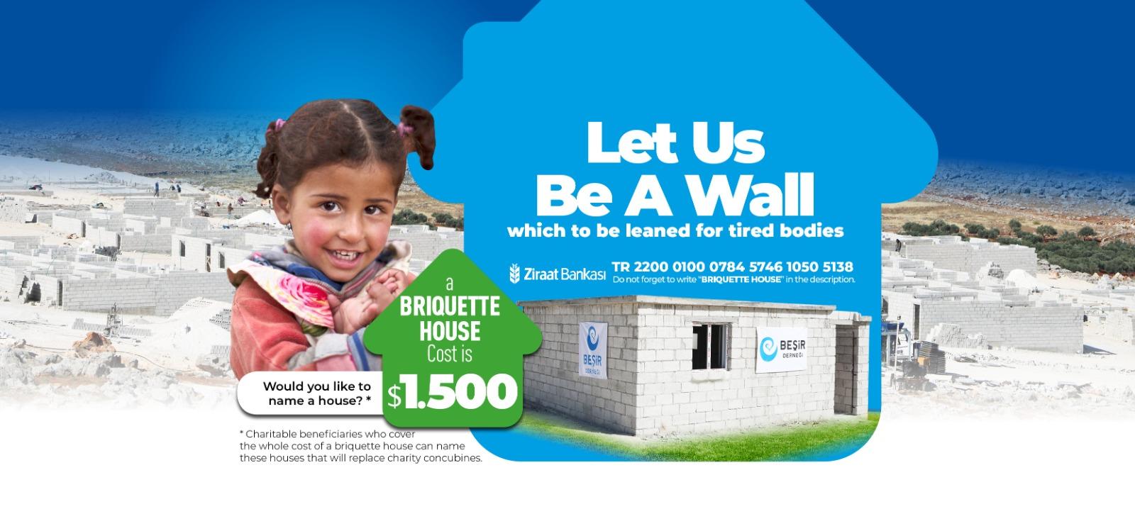 Briquette House Project