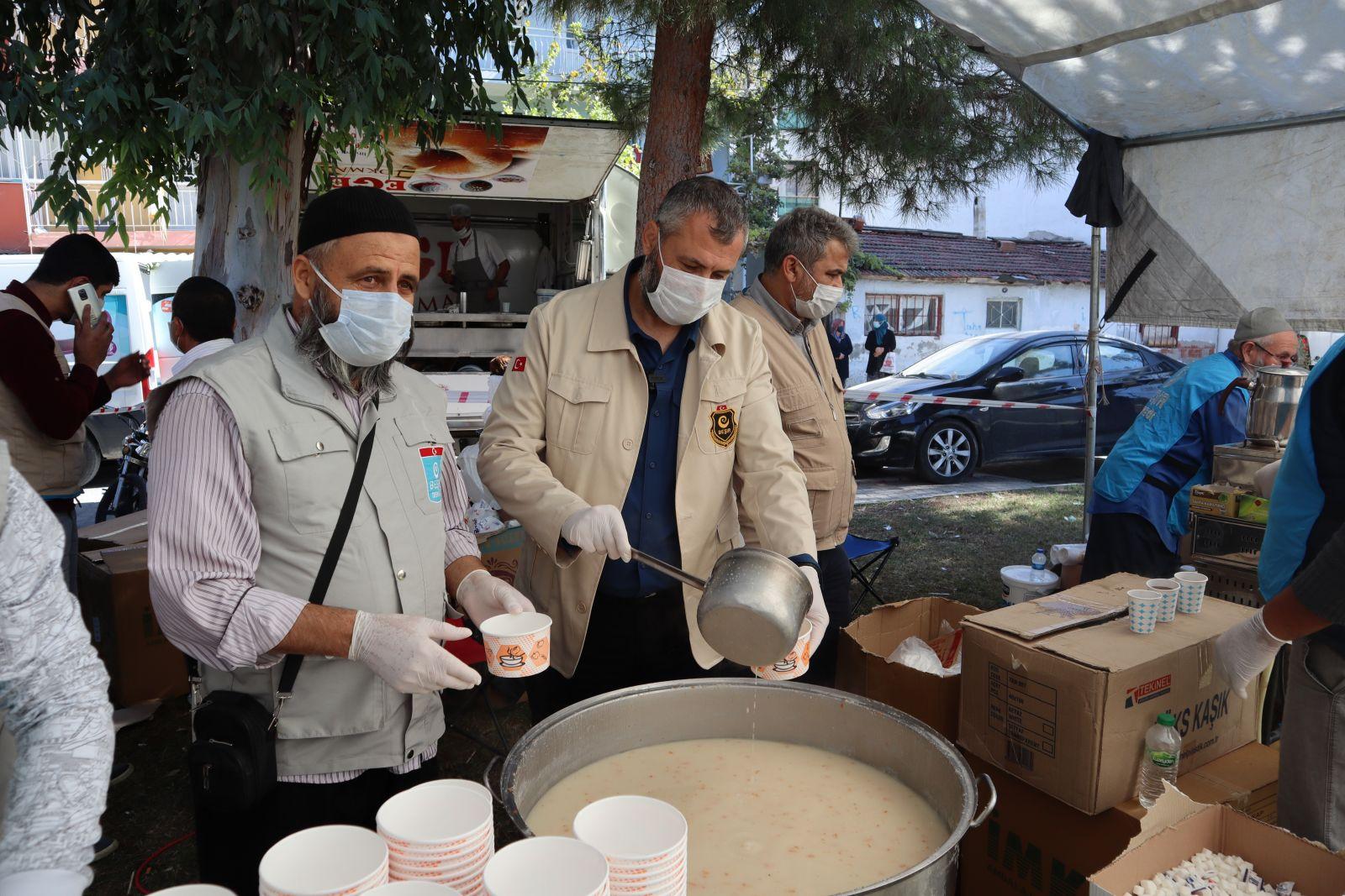 Beşir Derneği'nden İzmir'de Afetzedelere Destek