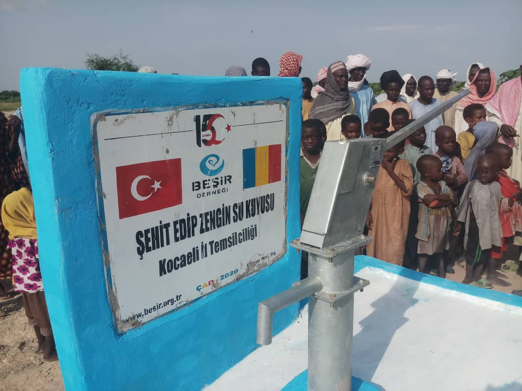 15 Temmuz Şehidimiz Edip Zengin Adına Su Kuyusu Açıldı