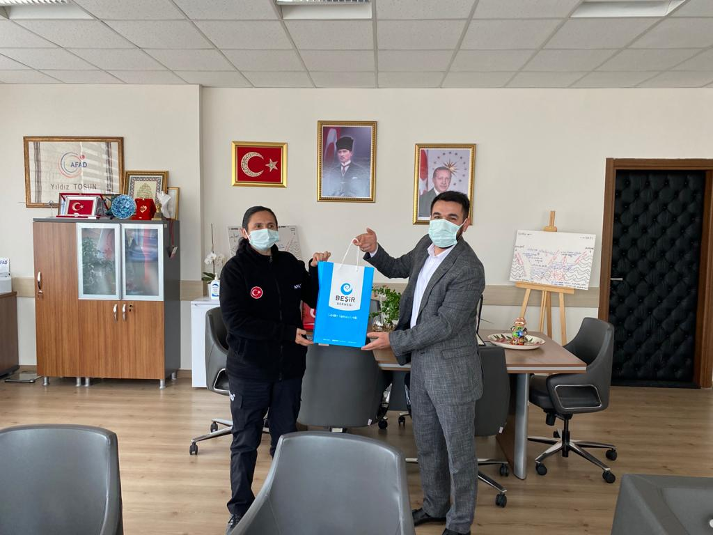 Konya AFAD İl Müdürü'ne Ziyaret