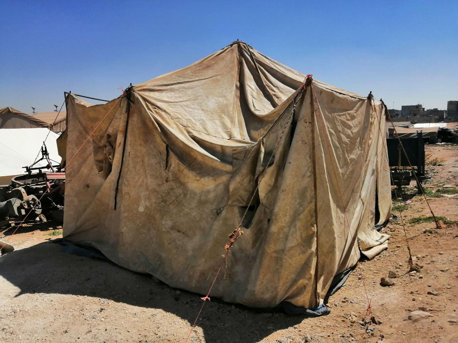 Azez'de Çadır Yardımı Yapan Beşir Ekipleri Gönüller Yapmaya Devam Ediyor