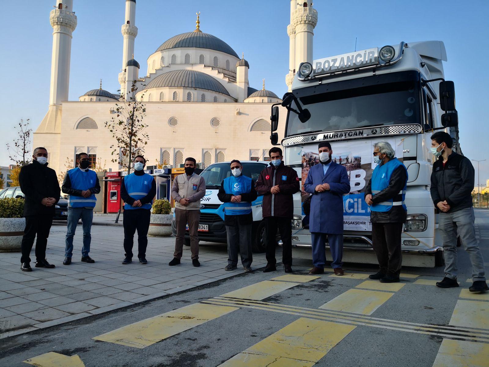 Başakşehir'den İdlib'e İnsani Yardım Tır'ı