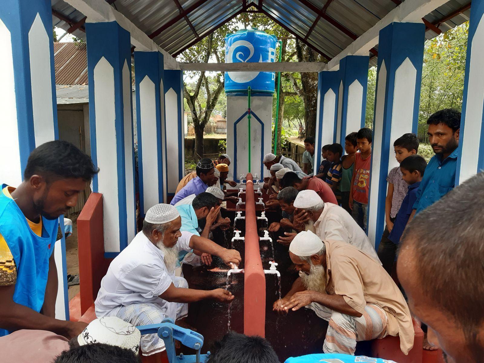 Bangladeş'te Ebu Eyyüb El Ensari (r.a.) Çeşmesi Açıldı.