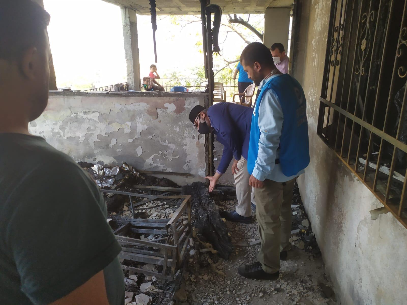 Hatay'da Yaşanan Orman Yangını Sonrası Yardımlarımızı İlettik