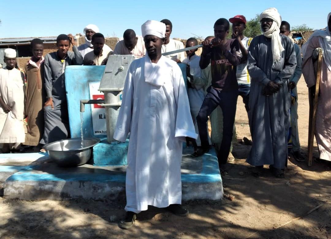 Afrika'da Yeni Bir Su Kuyusu
