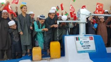 Afganistan Yardım,İnsani Yardım,Su Kuyusu,Yurtdışı Yardımları,afganistan, bereket, su, beşir, kuyu, kuraklık, nehir şahi, su kuyusu,