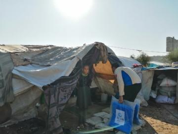 İnsani Yardım,Suriye Yardımları,Yurtdışı Yardımları,Beşir, Suriye, Azez, İnsani yardım, Çadır yardımı