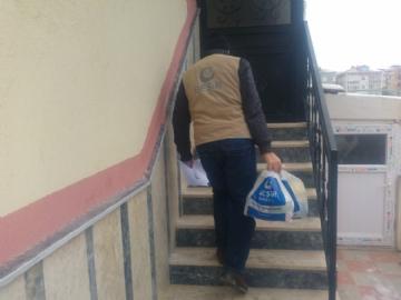 Gıda Yardımları,İnsani Yardım,Temsilci Faaliyetleri,Beşir Derneği, Çerkezköy, Gıda yardımı