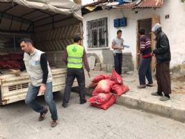 İnsani Yardım,Temsilci Faaliyetleri,Yakacak Yardımları