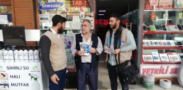 Tanıtım Faaliyetleri,Temsilci Faaliyetleri,Esnaf Ziyareti, Eyyübiye, Gaziantep, tanıtım faaliyeti