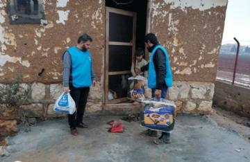 Gıda Yardımları,İnsani Yardım,Suriye Yardımları,Temsilci Faaliyetleri,Yurtdışı Yardımları,Beşir, İdlib, Gıda, Battaniye, Yardım