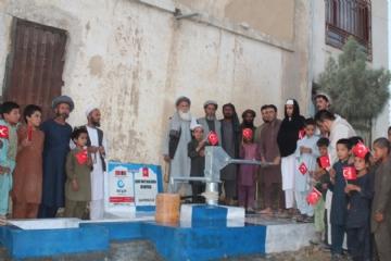 Afganistan Yardım,İnsani Yardım,Su Kuyusu,Yurtdışı Yardımları,Beşir, Afganistan, Şehit Mustafa Serin Su kuyusu,